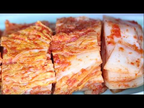 Easy Kimchi Using the Blender
