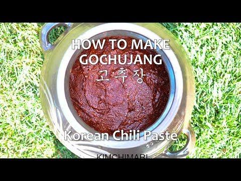 How to make Gochujang at home