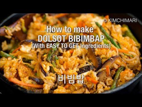 Bibimbap (Korean Stone Pot Rice Bowl) #koreanfood #koreancooking #koreanrecipes #bibimbap