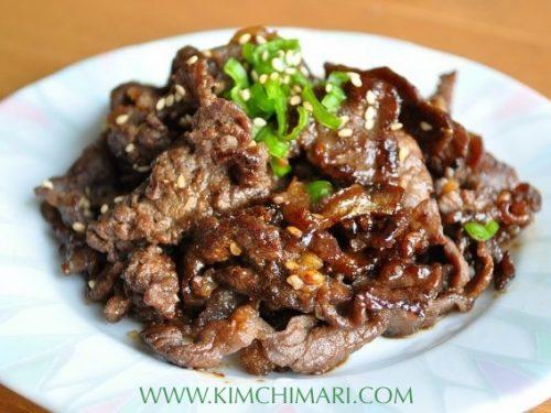Bulgogi Korean Beef Bbq