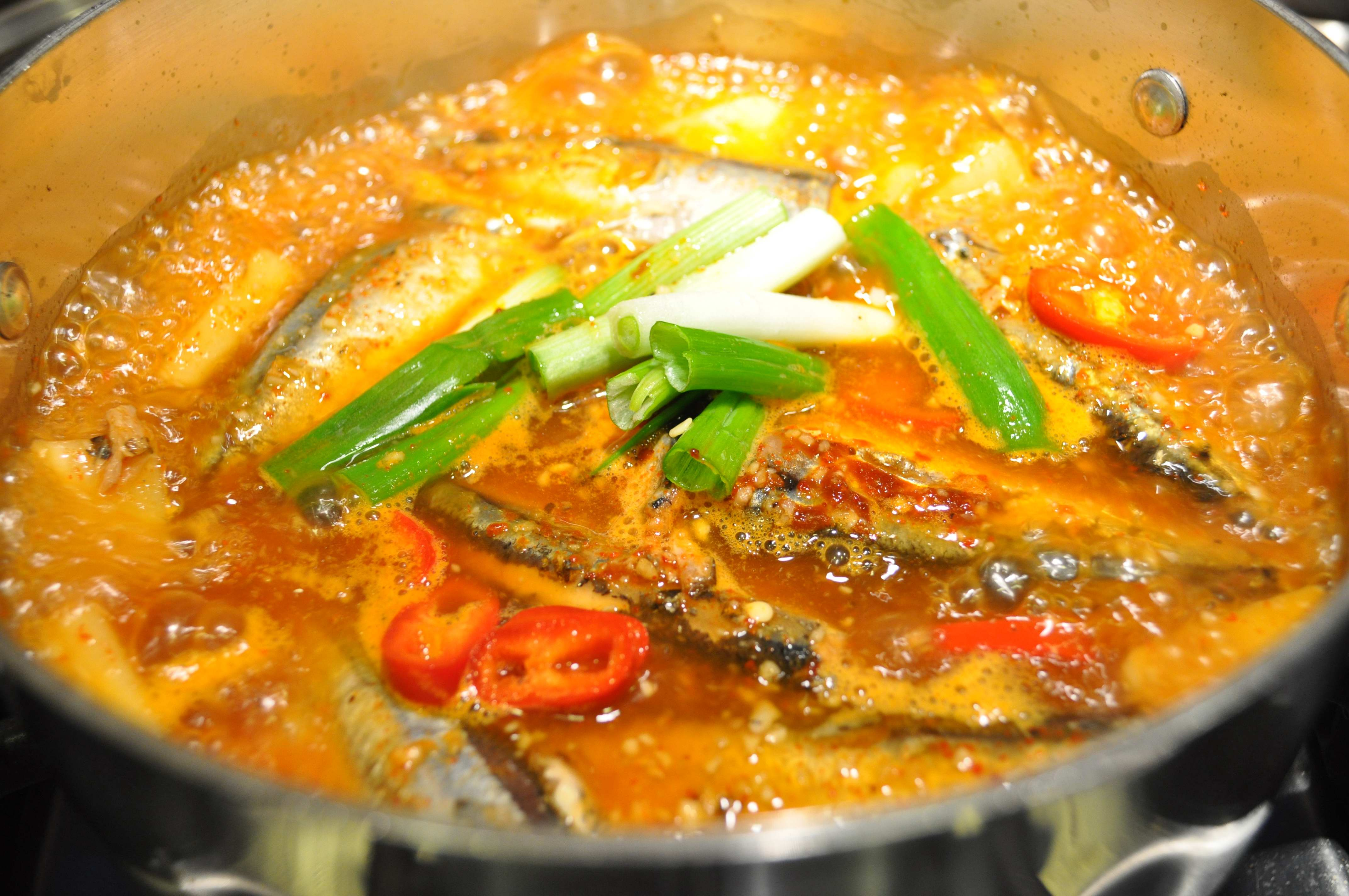 Kkongchi Jorim Boiling