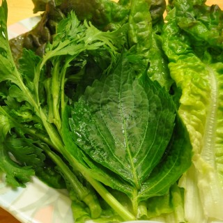 Ssam (쌈 Lettuce and other veggie wraps)