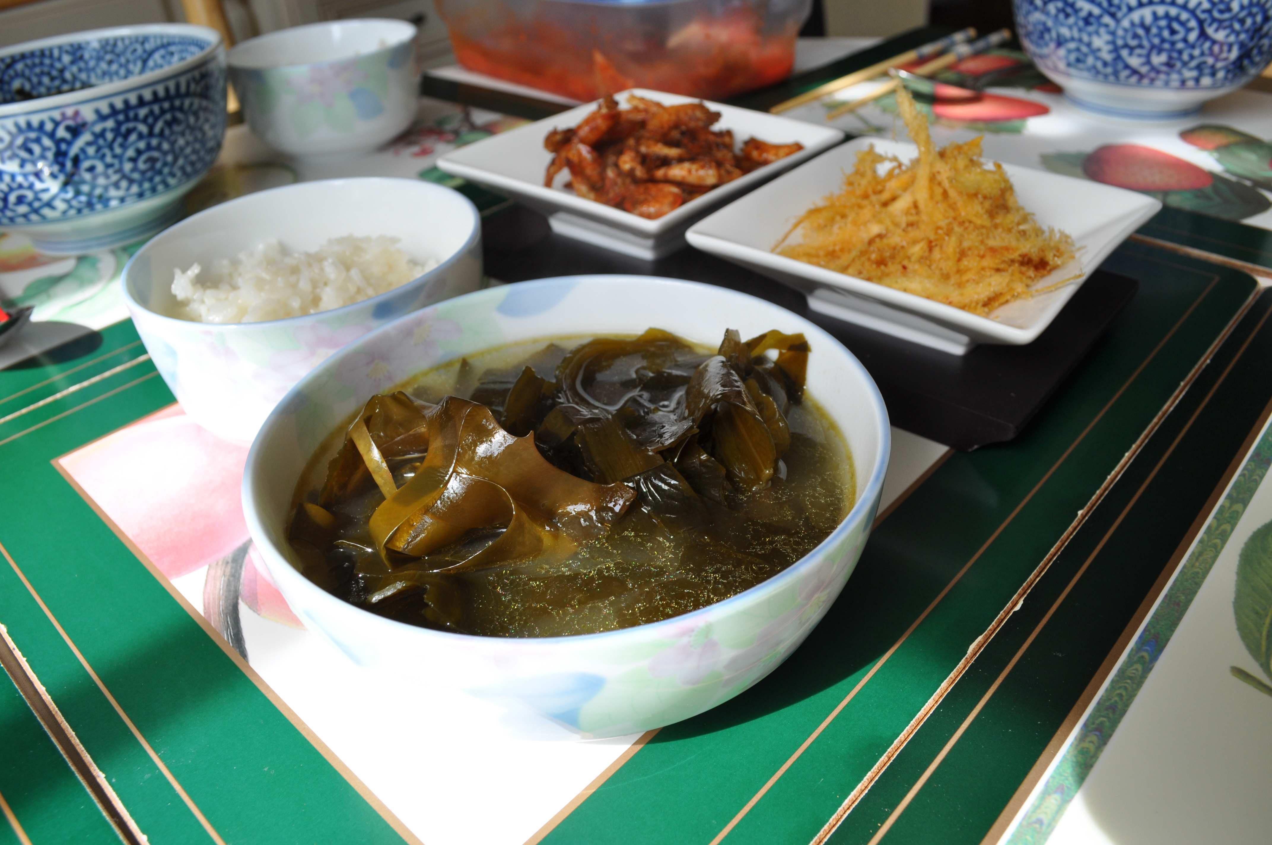 Miyeok Guk (Seaweed Soup)