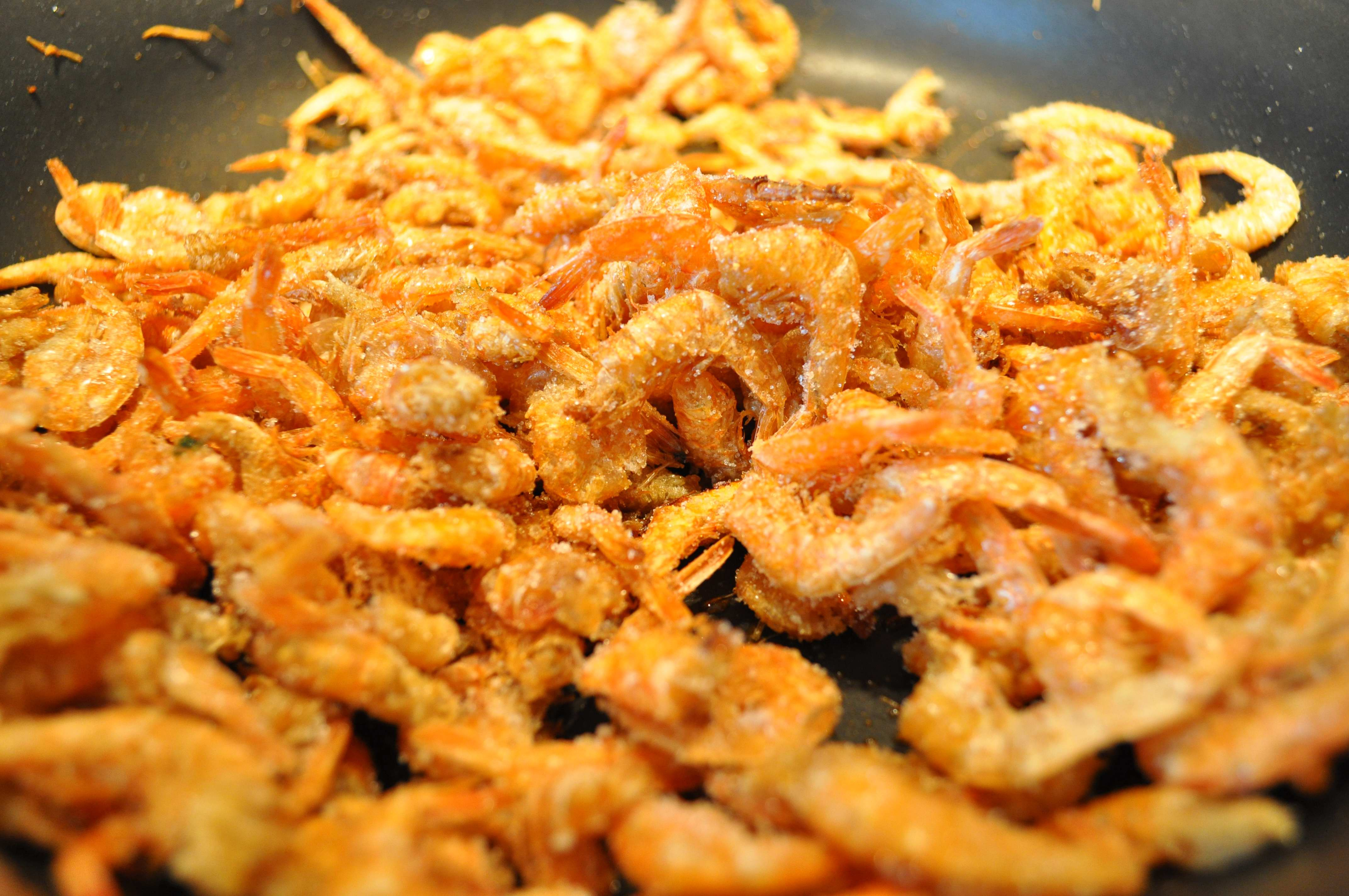 shrimp with sugar