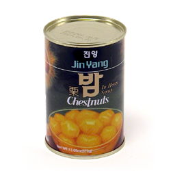 canned chestnuts