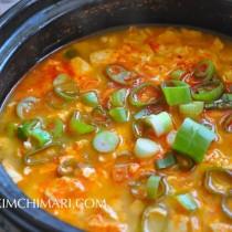 Sundubu Jjigae (Soft Tofu Stew) Finished