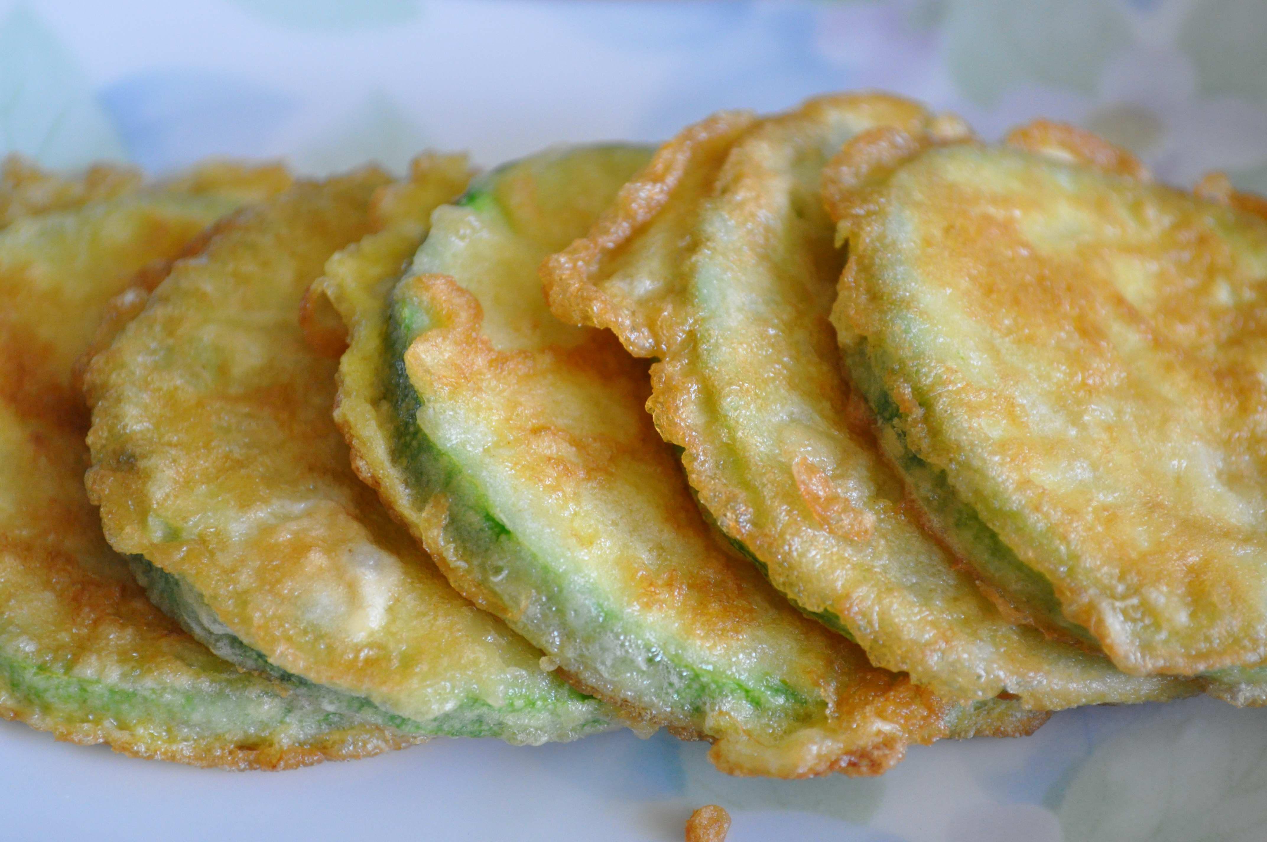 Korean Zucchini Fritter(Hobak Jeon) | Kimchimari  Korean Zucchini...