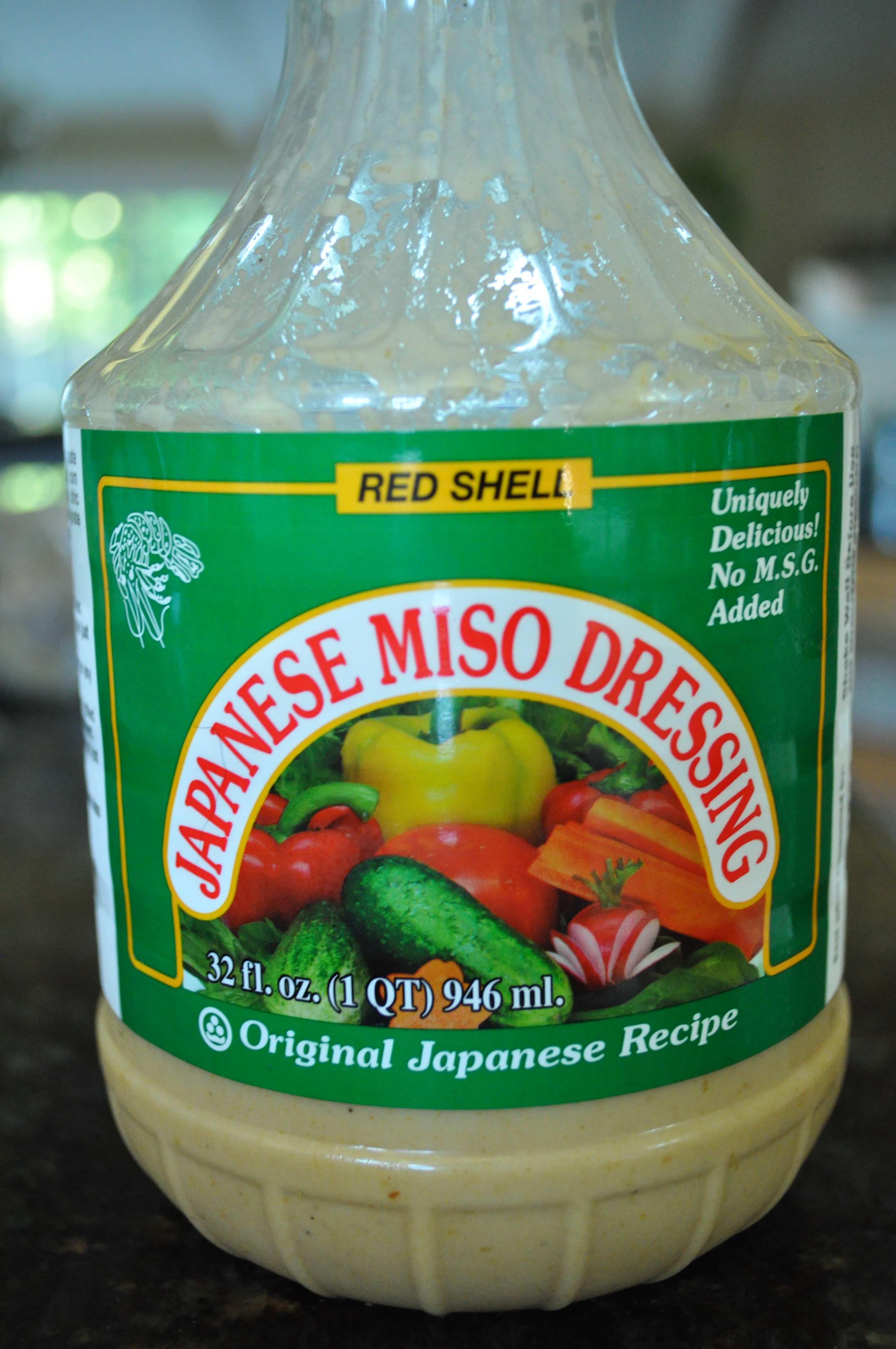 My favorite oriental dressing - Miso