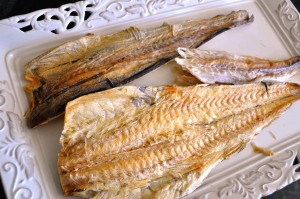 whole bugeo (dried pollock)
