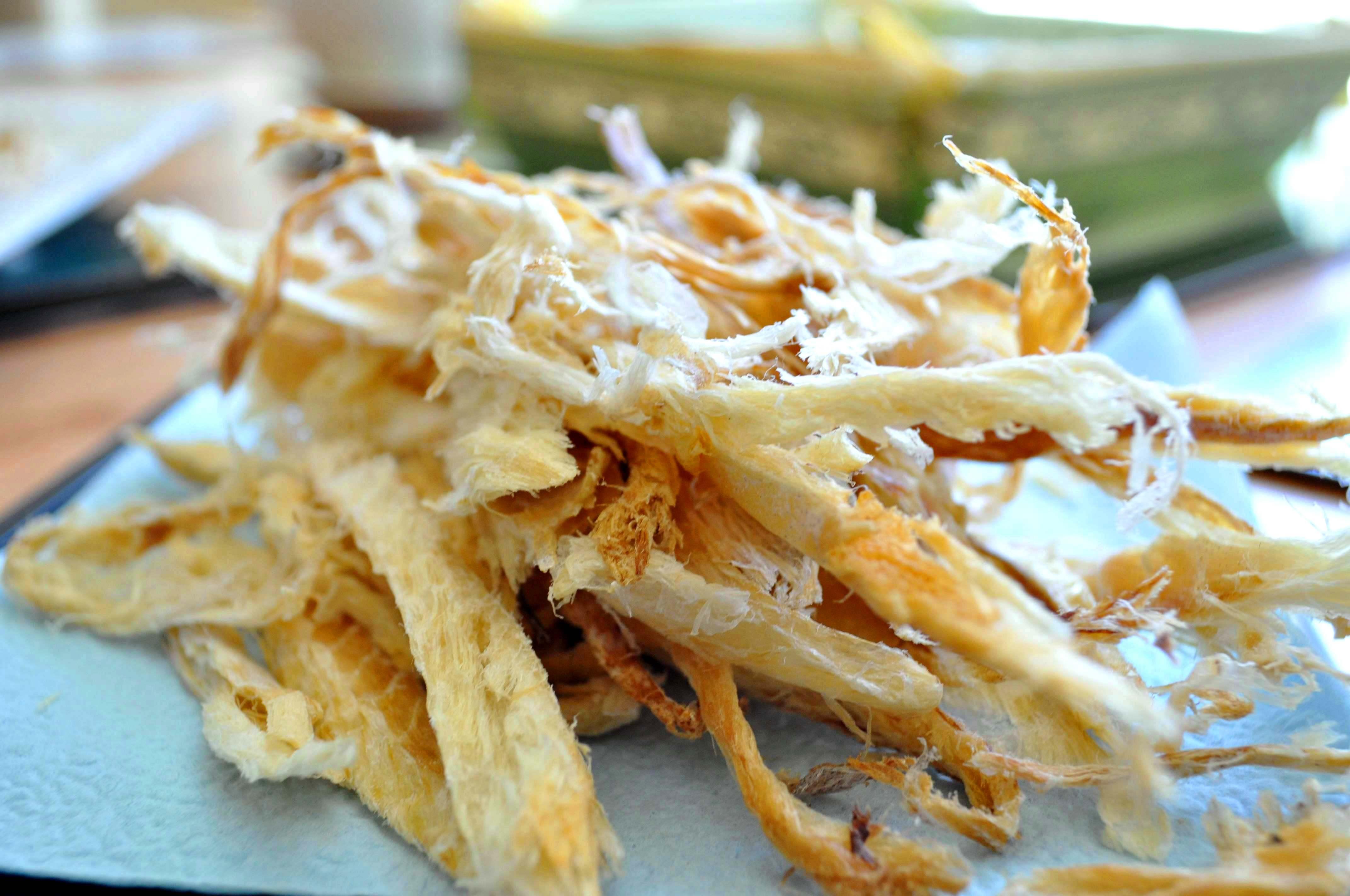 bugeo (dried pollock) strips