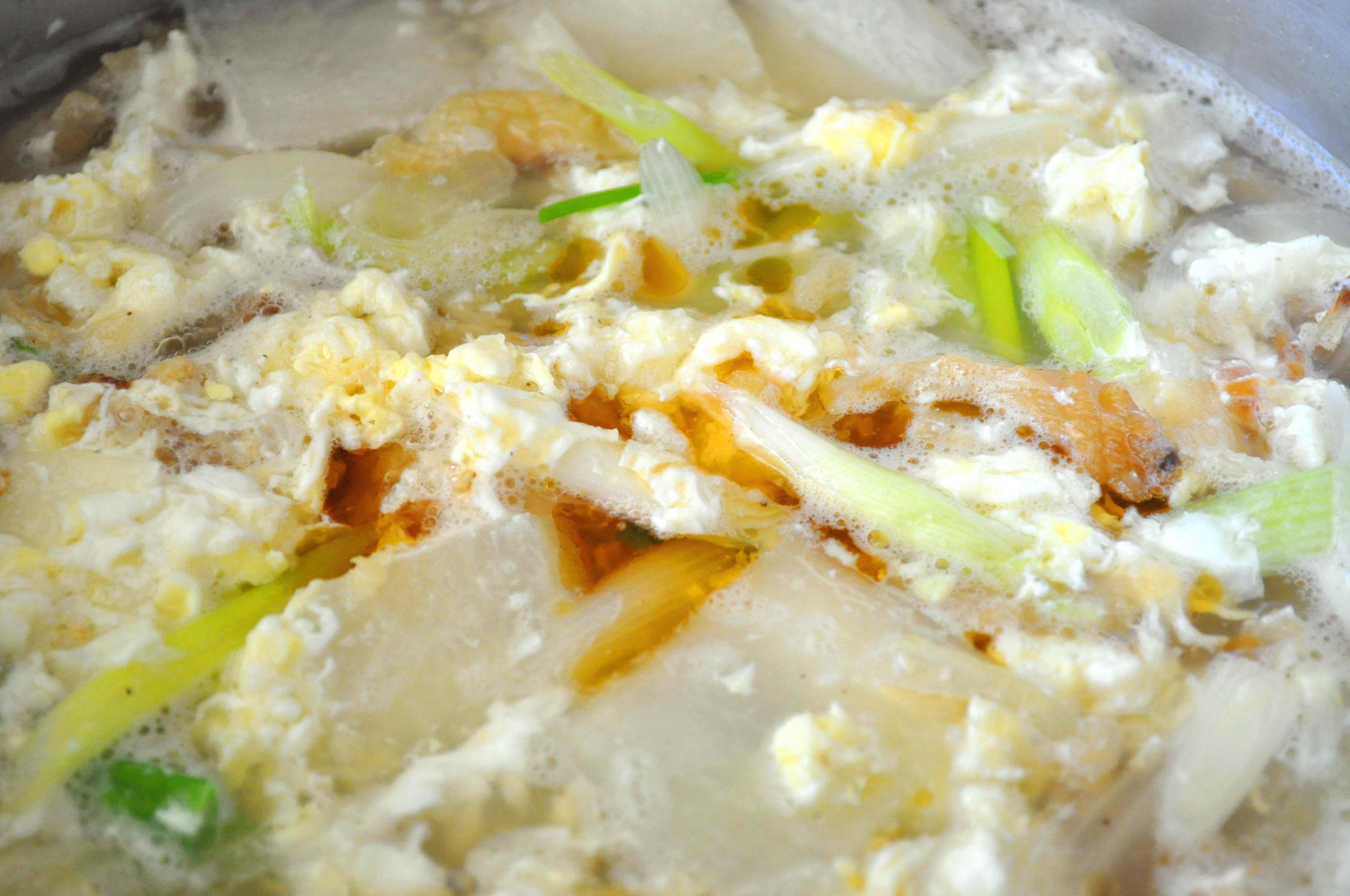 bugeo gook with sesame oil