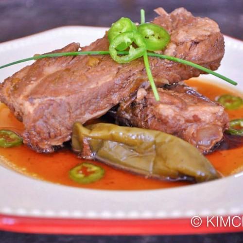 Dwaeji Galbi Jorim Soy Braised Pork Ribs