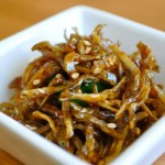 soy glazed dried anchovies(멸치 볶음 myulchi bokkeum)