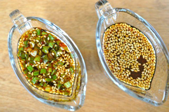 Seasoned soy sauce (양념장 Yangnyeom Jang)