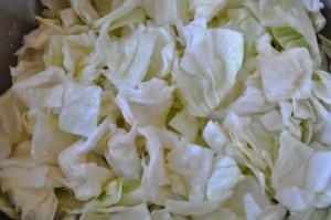 cabbage in salt water