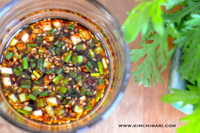korean soy salad dressing