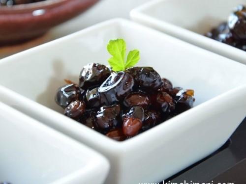 Sweet And Salty Soybeans 콩자반 Kongjaban Kimchimari