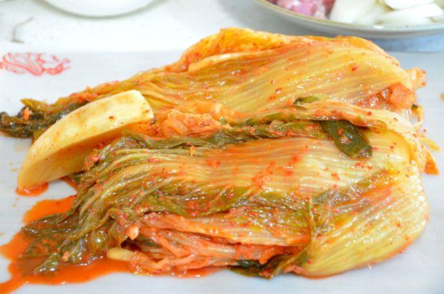kimjang kimchi in August