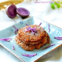 Crispy Potato Pancakes - Korean Style