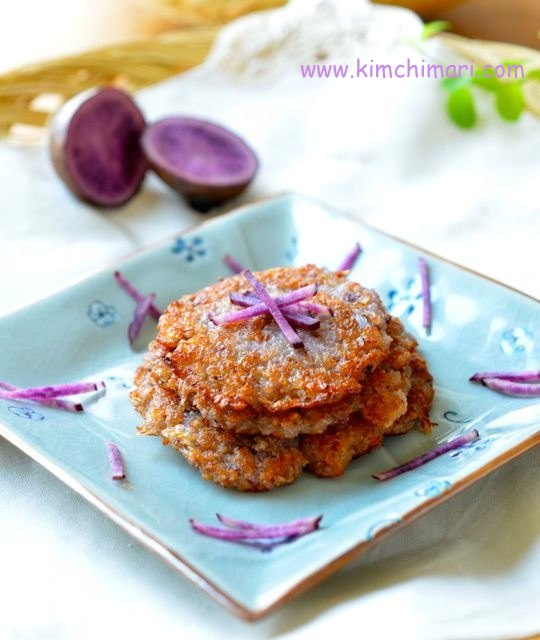 Crispy Potato Pancakes - Korean Style