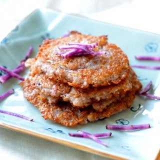 Crispy Potato Pancakes (감자전 Gamjajeon)