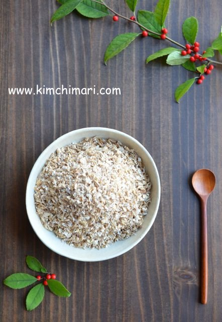 milled malt barley for sikhye/shikhye (Korean Sweet Rice Punch)