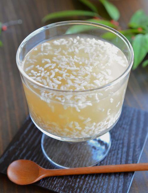 Korean Sweet Rice Punch (식혜 sikhye shikhye)