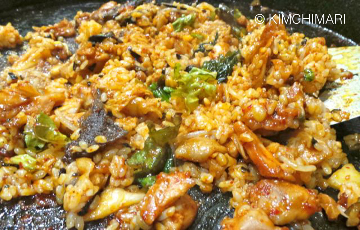 DakGalbi (Chuncheon Chicken Fried Rice)