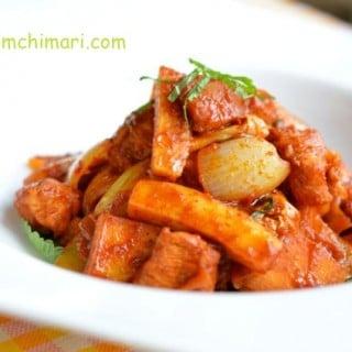 Chuncheon Chicken (춘천 닭갈비 Chuncheon Dak Kalbi)