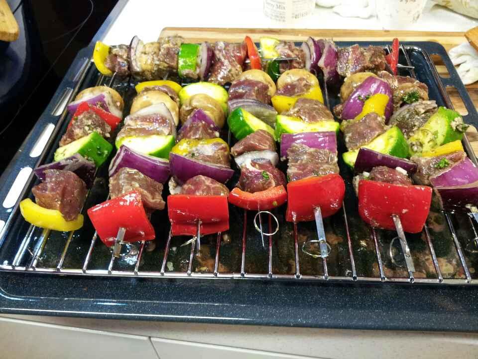 Beef Kebab - Middle Eastern style