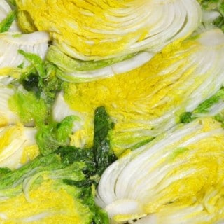 Tips on brining cabbage for Kimchi
