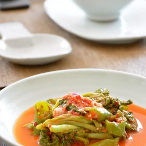Lettuce Kimchi (Sangchoo Kimchi 상추김치)