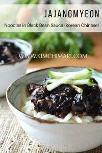Jajangmyeon Pinterest Pin