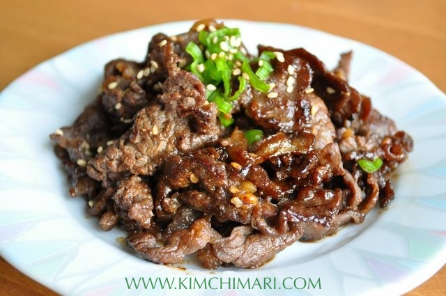 Easy Korean Chicken Bulgogi Recipe