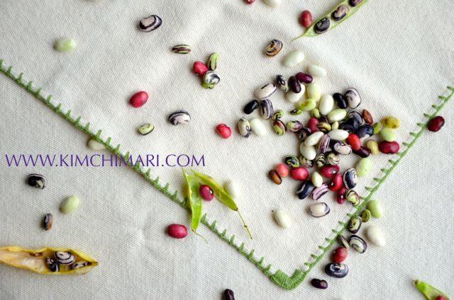 Colorful Korean Beans