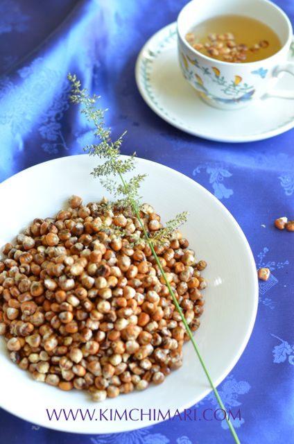 Oksusu cha and Oksusu Suyeom Cha - Korean Corn and Corn Silk Tea