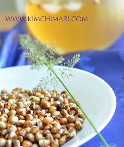 Roasted Corn Tea (옥수수차 Oksusu Cha)