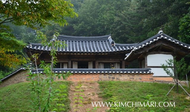 "Andong Gurume Historical Korean Home (고택 Gotaek) ""Baksanjeong (박산정)"""