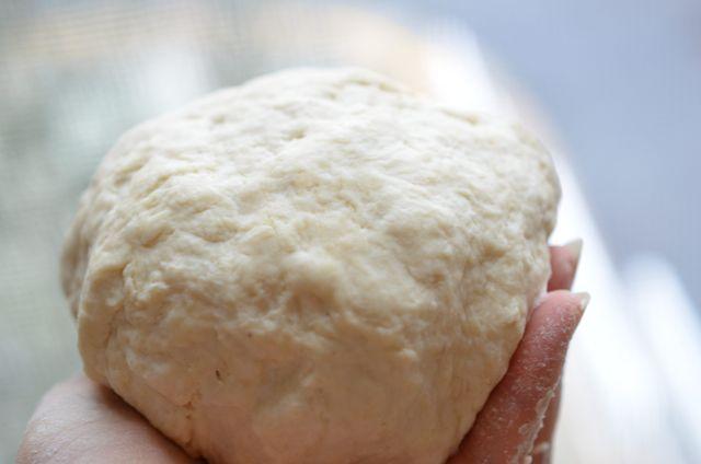 Flour dough for Korean mandu