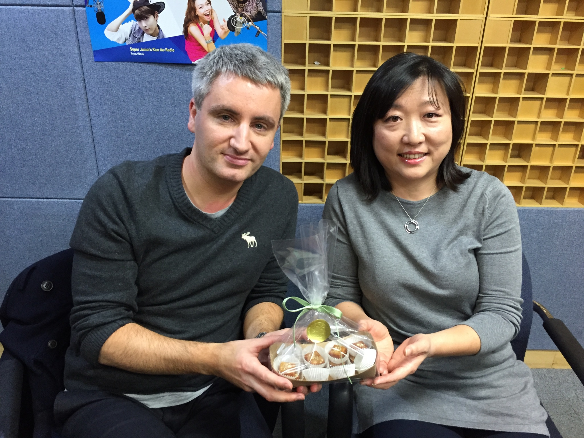 With Touch Base in Seoul (KBS World Radio) show host Mark Broome