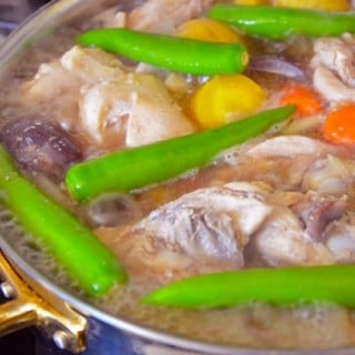 Hearty Soy Sauce Chicken Stew (닭도리탕 Dak doritang)