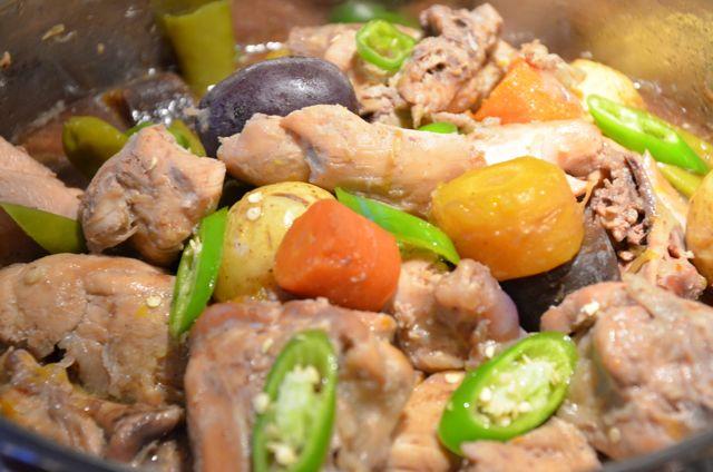 Korean Chicken Stew (닭도리탕 Dakdoritang)