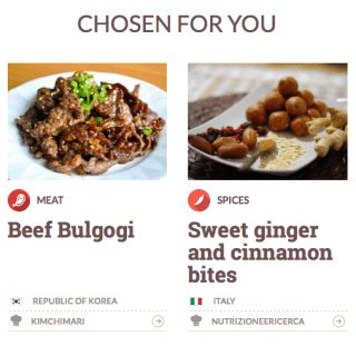 Bulgogi on Expo Worldrecipe homepage!
