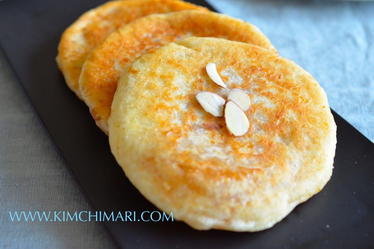 Hotteok 호떡 Korean Sweet Dessert Pancake Kimchimari