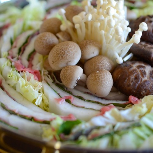 Mille Feuille Nabe (shabu shabu) ready to cook - www.kimchimari.com