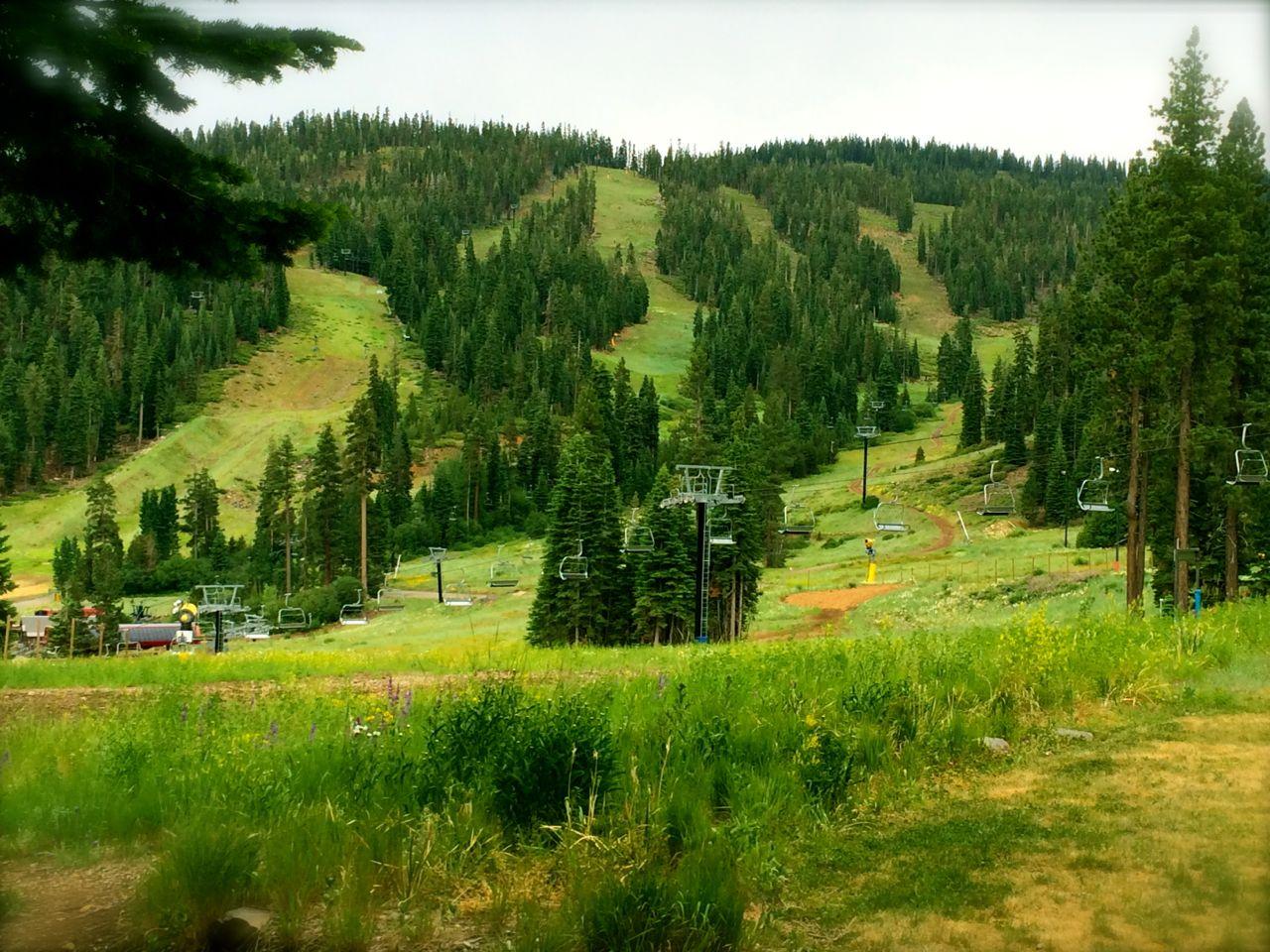 View from Ritz Carlton, Lake Tahoe, CA