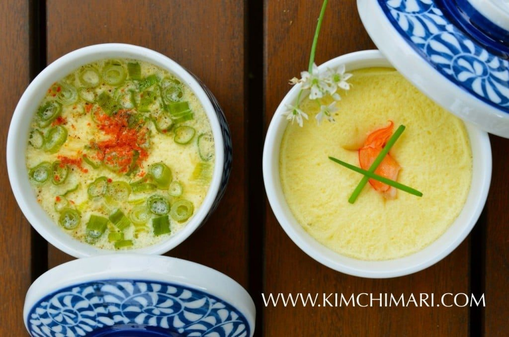 Korean Steamed Eggs Two ways