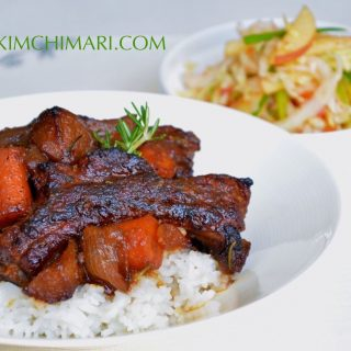 Apply Soy Sauce Braised Pork Ribs