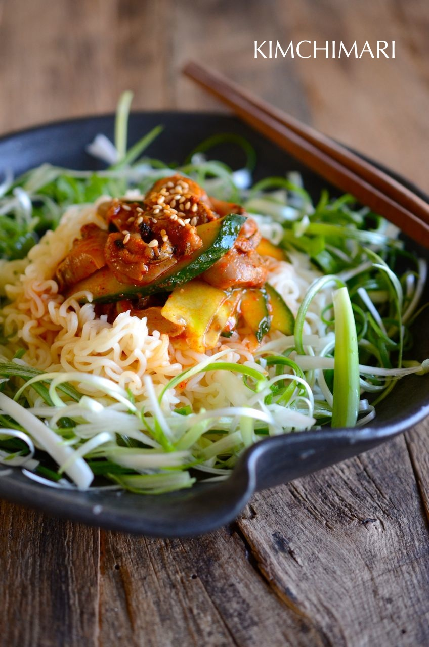 noodles using pork recipes and ramen Ramen Ramen Korean using Easy  Kimchimari  Recipes