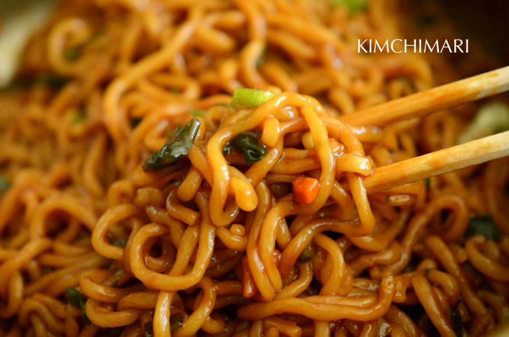 Chapaguri (blend of two ramens: Chapagetti and Neoguri)